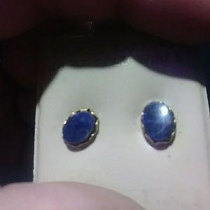 Jewelry - Lapis Lazuli studs 14k/12k